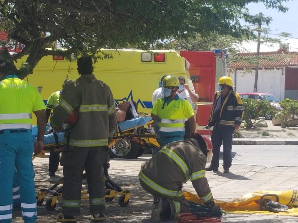 Accidente fuerte na crusada di Wendys na Palm Beach
